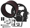 S&S AIR CLEANER KIT AND COVERS FOR INDIAN