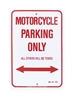 MC ENTERPRISES PARKING SIGN