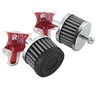 K&N CRANKCASE BREATHERS FOR V-TWIN