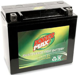 POWER MAX MAINTENANCE FREE BATTERY