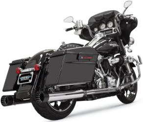 BASSANI XHAUST 4 IN. DNT STRAIGHT CAN MUFFLERS WITH AN ACOUSTICALLY TUNED BAFFLE