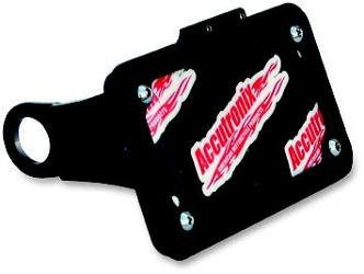ACCUTRONIX SIDE MOUNT LICENSE PLATE ASSEMBLY