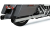 KHROME WERKS 4.50 IN. HP-PLUS SLIP-ON MUFFLERS