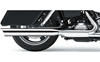 COBRA USA 4 IN. SLASHDOWN SLIP-ON MUFFLER FOR DYNA GLIDE