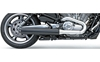 BASSANI XHAUST 4 IN. SLIP-ON MUFFLER FOR V-ROD