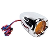 ARLEN NESS DEEP CUT FACTORY STYLE TURN SIGNALS WITH LED FIRE RING