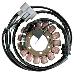 ACCEL MOTORCYCLE PRODUCTS ALTERNATOR STATORS