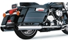 COBRA USA 4 IN. SLASHDOWN SLIP-ON MUFFLERS