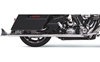 BASSANI XHAUST 2-1/4 IN. FISHTAIL SLIP-ON MUFFLERS