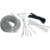 BARON CUSTOM ACCESSORIES CABLE AND  HOSE AND WIRE DRESS-UP KITS