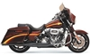 BASSANI XHAUST ROAD RAGE 2-INTO-1 SYSTEMS FOR DRESSER / TOURING