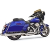 BASSANI XHAUST STAINLESS STEEL TRUE-DUAL EXHAUST SYSTEM FOR DRESSER / TOURING