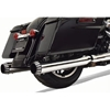 BASSANI XHAUST 4 IN. QUIET DNT MEGAPHONE MUFFLERS FOR DRESSER / TOURING