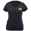 DRAG SPECIALTIES WOMENS V-NECK T-SHIRTS