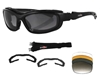 BOBSTER ROAD HOG II CONVERTIBLE AND INTERCHANGEABLE GLASSES