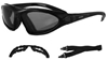 BOBSTER ROADMASTER PHOTOCHROMIC CONVERTIBLE GOGGLES SUNGLASSES