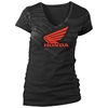 HONDA WOMENS RACING ABSTRACT WINGS TEE