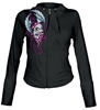LETHAL THREAT WOMENS SKULL HOODY