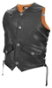 MISSING LINK MENS G2 DOC REVERSIBLE LEATHER AND HI-VIS SAFETY VEST