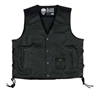 BLACK BRAND MENS AXE LEATHER VEST