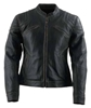 BLACK BRAND WOMENS CHARMER LEATHER JACKET