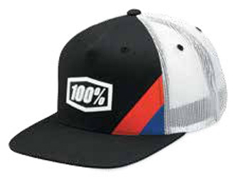 100 PERCENT YOUTH CORNERSTONE TRUCKER CAP