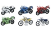 NEW RAY TOYS 1:18 SCALE MOTORCYCLE ASSORTMENT