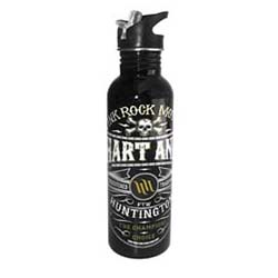 SMOOTH INDUSTRIES HART AND HUNTINGTON STAINLESS STEEL WATER BOTTLE