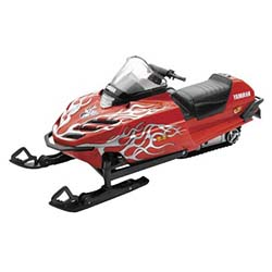 NEW RAY TOYS 1:12 SCALE REMOTE CONTROLLED SNOWMOBILE