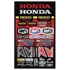 100% GEICO HONDA DECAL SHEET
