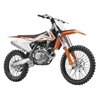 NEW RAY TOYS 1:10 SCALE DIRT BIKE