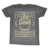 AMERICAN CLASSICS APPAREL MENS EVEL WAYS TEE