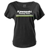 FACTORY EFFEX WOMENS KAWASAKI SMALL STRIPES TEE