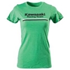 FACTORY EFFEX WOMENS KAWASAKI STRIPES TEE
