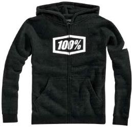 100 PERCENT YOUTH SYNDICATE ZIP HOODY