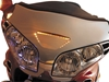 SHOW CHROME ACCESSORIES LED WINDSHIELD GARNISH