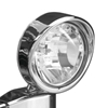 SHOW CHROME ACCESSORIES 3 1/2 INCH VISORED DRIVING LIGHT
