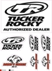TUCKER ROCKY LOGO STICKER SHEETS
