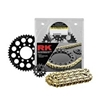 RK 520 ALUMINUM QUICK ACCELERATION CHAIN AND SPROCKET KITS