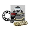 RK 520 STEEL QUICK ACCELERATION CHAIN AND SPROCKET KITS
