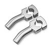 SHOW CHROME ACCESSORIES 4 INCH CLASSIC PULLBACK RISERS