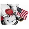 PRO PAD LICENSE PLATE FLAG MOUNT WITH 6 IN. X 9 IN. USA FLAG