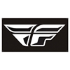 FLY RACING F WING LOGO BANNER