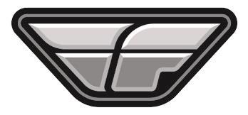 FLY RACING F WING DECAL