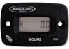 HARDLINE PRODUCTS RESETTABLE HOUR / TACHOMETER METER WITH LOG BOOK