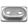 WOODYS ANGLED DOUBLE DIGGER ALUMINUM BACKING PLATES