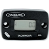HARDLINE PRODUCTS HOUR / TACH METER WITH LOG BOOK