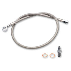 PARTS UNLIMITED EXTENDED LENGTH BRAKE LINES