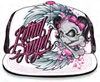 LETHAL THREAT WOMENS LETHAL ANGEL GIRL SKULL HAT