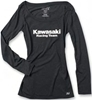 FACTORY EFFEX WOMENS KAWASAKI RACING LONG SLEEVE SHIRT